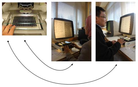 begini cara menggunakan microfiche :D
