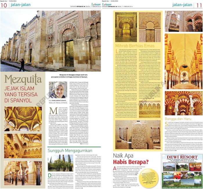 epaper_republika_Mezquita_JEJAK_ISLAM_YANG_TERSISA_DI_SPANYOL
