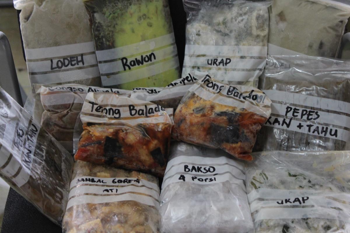 Precooked Frozen Food Makanan Beku Matang Bersusah Susah Dahulu