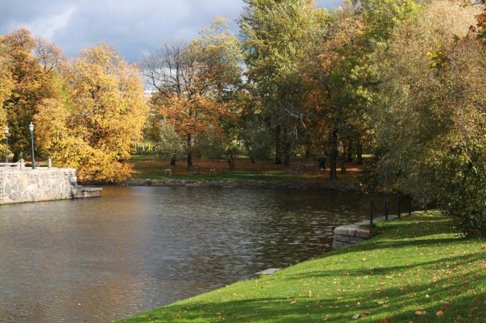 Kanal di Musim Gugur