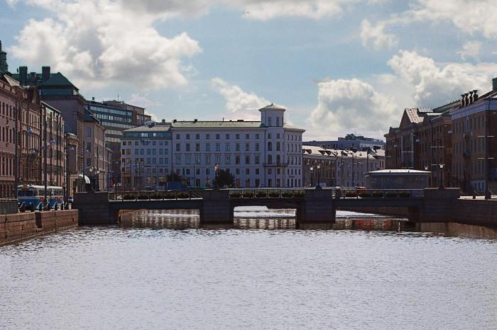 Kanal Stora Hamn - Brunnsparken