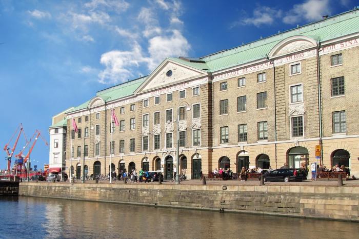 Östindiska Huset - Museum Kota Gothenburg