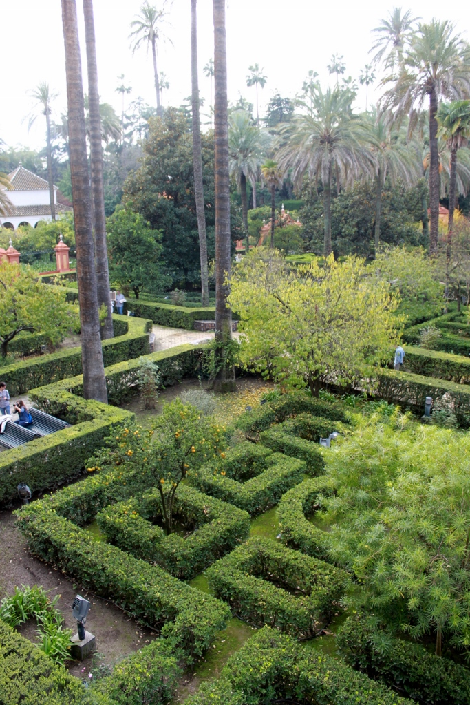 Taman Istana Alcazar