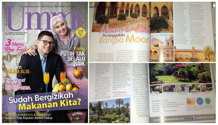 Majalah Ummi edisi Bulan Januari 2015
