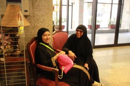Saya dan Ibu Aicha