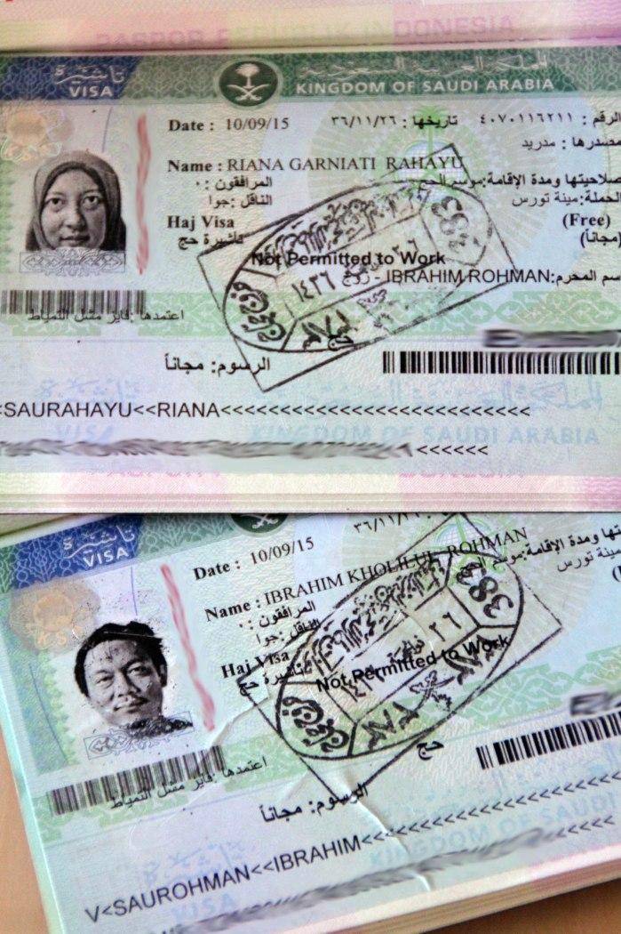 Visa Haji